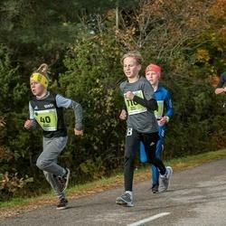 47. Saaremaa kolme päeva noortejooks - Berit Kant (26), Richard Vlassov (40), Oliver Kerno (110), Johan Pajur (141)