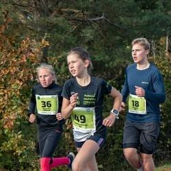 47. Saaremaa kolme päeva noortejooks - Mattias Oll (18), Anna Mia Atonen (36), Kristiin Heleen Oll (49)