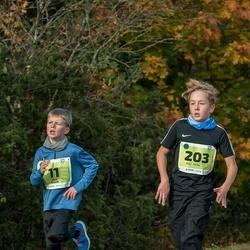 47. Saaremaa kolme päeva noortejooks - Kris Kuusk (11), Riko Velve (203)