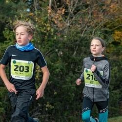 47. Saaremaa kolme päeva noortejooks - Riko Velve (203), Liisa Sall (218)