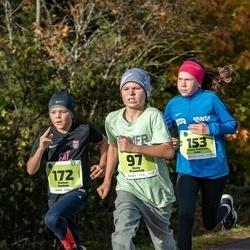 47. Saaremaa kolme päeva noortejooks - Risto Pruunlep (97), Hanna-Rebecca Inno (153), Markus Voolma (172)