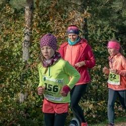 47. Saaremaa kolme päeva noortejooks - Loore Maria Põldre (156), Hanna-Brit Piht (192)