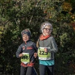 47. Saaremaa kolme päeva noortejooks - Kert Viirmann (198), Vanessa Sikk (225)