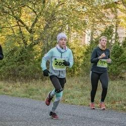 47. Saaremaa kolme päeva noortejooks - Ruta Käärst (117), Arabella Puskar (197), Merili Pent (205)