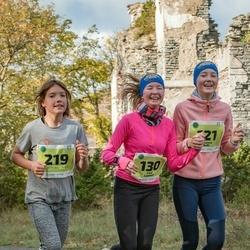 47. Saaremaa kolme päeva noortejooks - Johanna Subi (121), Emili Leemet (130), Mette Merit Peenoja (219)