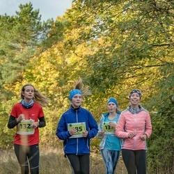 47. Saaremaa kolme päeva noortejooks - Mariliis Puusepp (132), Annemari Laugal (137), Karola Kivipõld (185)