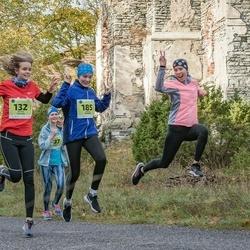 47. Saaremaa kolme päeva noortejooks - Mariliis Puusepp (132), Karola Kivipõld (185)
