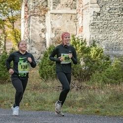 47. Saaremaa kolme päeva noortejooks - Madleen Ambur (86), Kairit Kalda (138)