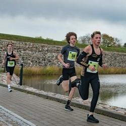 47. Saaremaa kolme päeva noortejooks - Roberts Aleksis Glazers (3), Alex Ojava (38), Kert Kask (165), Risto Pernits (188)