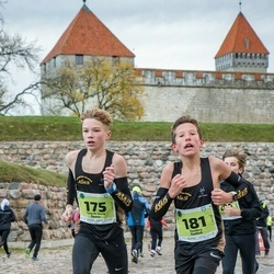 47. Saaremaa kolme päeva noortejooks - Ricards Davis Špacs (175), Teodors Godinš (181)