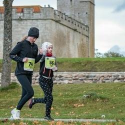 47. Saaremaa kolme päeva noortejooks - Merete Sild (56), Mia Mirtel Kitt (74)