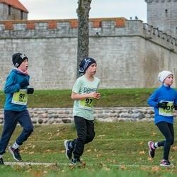 47. Saaremaa kolme päeva noortejooks - Gregor Kallas (91), Risto Pruunlep (97), Florence Maria Abner (105)