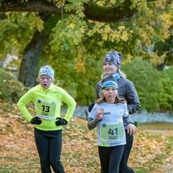 47. Saaremaa kolme päeva noortejooks - Eleanor Leedo (13), Margaret Vlassov (41)