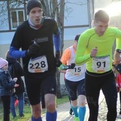 65. Viljandi Linnajooks - Kaupo Tammemäe (91), Tiit Palu (228)