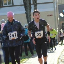 65. Viljandi Linnajooks - Indrek Peterkopf (23), Jaanus Ruut (247)