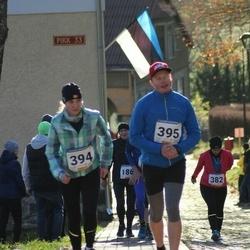65. Viljandi Linnajooks - Jana Vilk (394), Jaanus Koval (395)