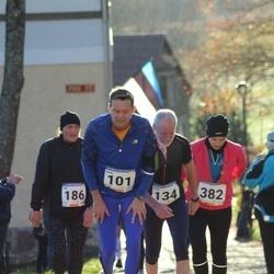 65. Viljandi Linnajooks - Aivar Hommik (101), Peet Paal (134), Heli Torim (186), Laura-Liis Juursalu (382)
