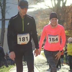 65. Viljandi Linnajooks - Karin Koorits (154), Urmas Koorits (181)