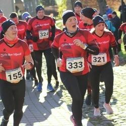 65. Viljandi Linnajooks - Triinu Kannel (155), Karin Kiilaspä (321), Maarika Reiles (333)