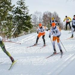 Pöide Suusasõit - Tarmo Mändla (102), Mairo Mändla (103), Joonatan Johanson (112), Haigo Varik (113), Karl Jakob Toplaan (117), Ülar Jürviste (161)