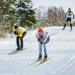Pöide Suusasõit - Oliver Oolup (105), Annika Vaher (116)
