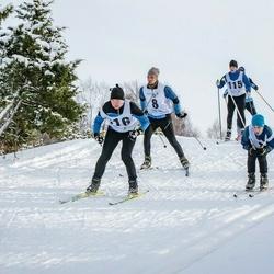 Pöide Suusasõit - Martin Vesberg (8), Silver Vahstein (16), Tiit Tilk (115), Annika Vaher (116)