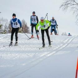 Pöide Suusasõit - Silver Vahstein (16), Kaupo Koplus (27), Jüri Linde (101), Tiit Tilk (115)