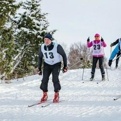 Pöide Suusasõit - Riho Räim (13), Anita Rahu (23), Jaanus Vesberg (61)
