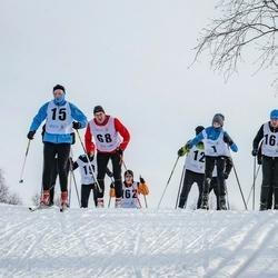 Pöide Suusasõit - Karel Mälk (1), Meribel Vahstein (15), Urmas Treiel (68), Argo Miller (169)