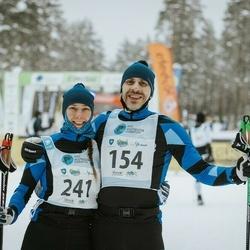22. Alutaguse Maraton - Jaanus Altoja (154), Annika Altoja (241)