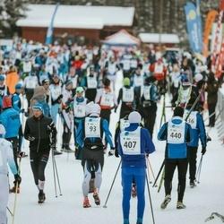 22. Alutaguse Maraton - Teesi Tuul (174), Tõnu Roosve (407), Elar Jeeger (440)