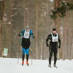 47. Tartu Maraton - Tago Teetamm (427), Aivar Taro (543)