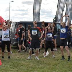 41. jooks ümber Ülemiste järve - Vahur Valdmann (72), Indrek Mällo (325), Alo Vallikivi (326), Ilme Parik (369), Anastassia Safonova (493)