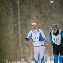 47. Tartu Maraton - Erik Pallase (331), Aivar Taro (543)