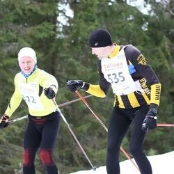 23. Tallinna Suusamaraton - Timo Moorast (312), Taivo Velling (535)