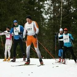 23. Tallinna Suusamaraton - Priit Kingo (477), Madis Mahlapuu (495), Villu Toom (497)