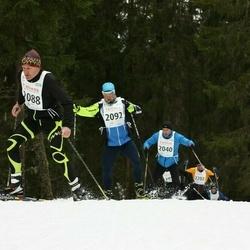 23. Tallinna Suusamaraton - Jarmo Idavain (2040), Boris Skorokhod (2088), Erkko Noormaa (2092)