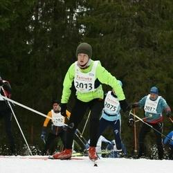 23. Tallinna Suusamaraton - Mauro Erik Saar (2013), Andrus Oruste (2037)
