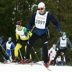 23. Tallinna Suusamaraton - Ahto Altmets (2053), Kati Raudsaar (2085), Martin Kruus (2091)