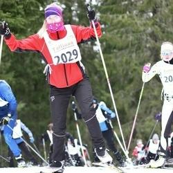 23. Tallinna Suusamaraton - Karin Raudsalu (2029), Heidy-Liisbet Kukk (2072)