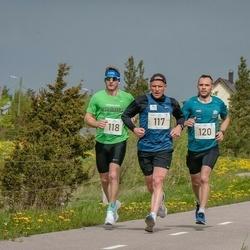 V Ultima Thule maraton - Jaanus Kallaste (115), Jarl Edur (117), Stenver Matt (120)