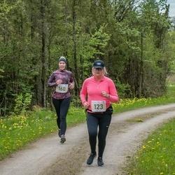 V Ultima Thule maraton - Marili Niits (123), Maris Tustit (160)