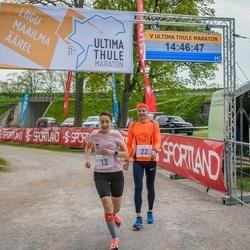 V Ultima Thule maraton - Tuuli Saarniit (13), Janno Juhkov (22)