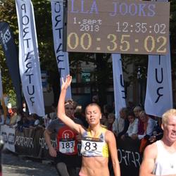Jüri Jaansoni Kahe Silla jooks - Birgit Pihelgas (83), Hanno Aaste (183)