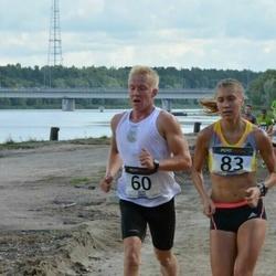 Jüri Jaansoni Kahe Silla jooks - Joosep Karlson (60), Birgit Pihelgas (83)