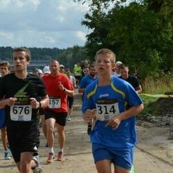 Jüri Jaansoni Kahe Silla jooks - Brandon Loorits (314), Peep BušIn (676)