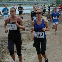 Jüri Jaansoni Kahe Silla jooks - Birgit Haasmaa (528), Gea Taalvelt (1190)