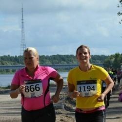 Jüri Jaansoni Kahe Silla jooks - Merle Laidro (866), Birgit Talts (1194)