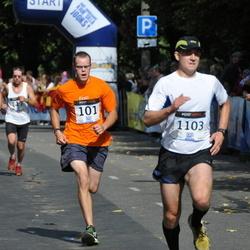 Jüri Jaansoni Kahe Silla jooks - Andreas Baum (79), Arno Bester (101), Madis Rouhijainen (1103)