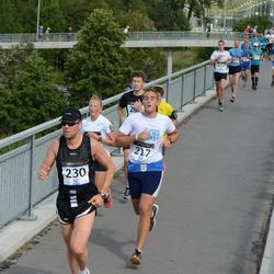 Jüri Jaansoni Kahe Silla jooks - Daniel Liik (217), Ago Teder (230)
